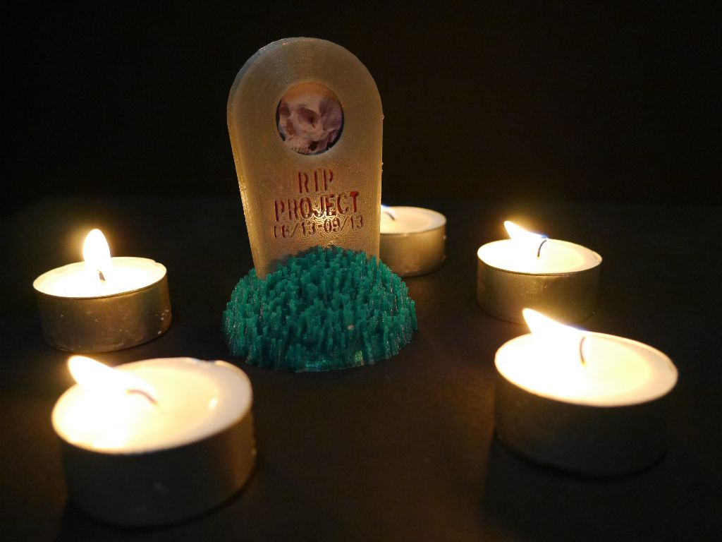 Candles were not 3D printed (but given that PLA burns quite well maybe you could print them?)