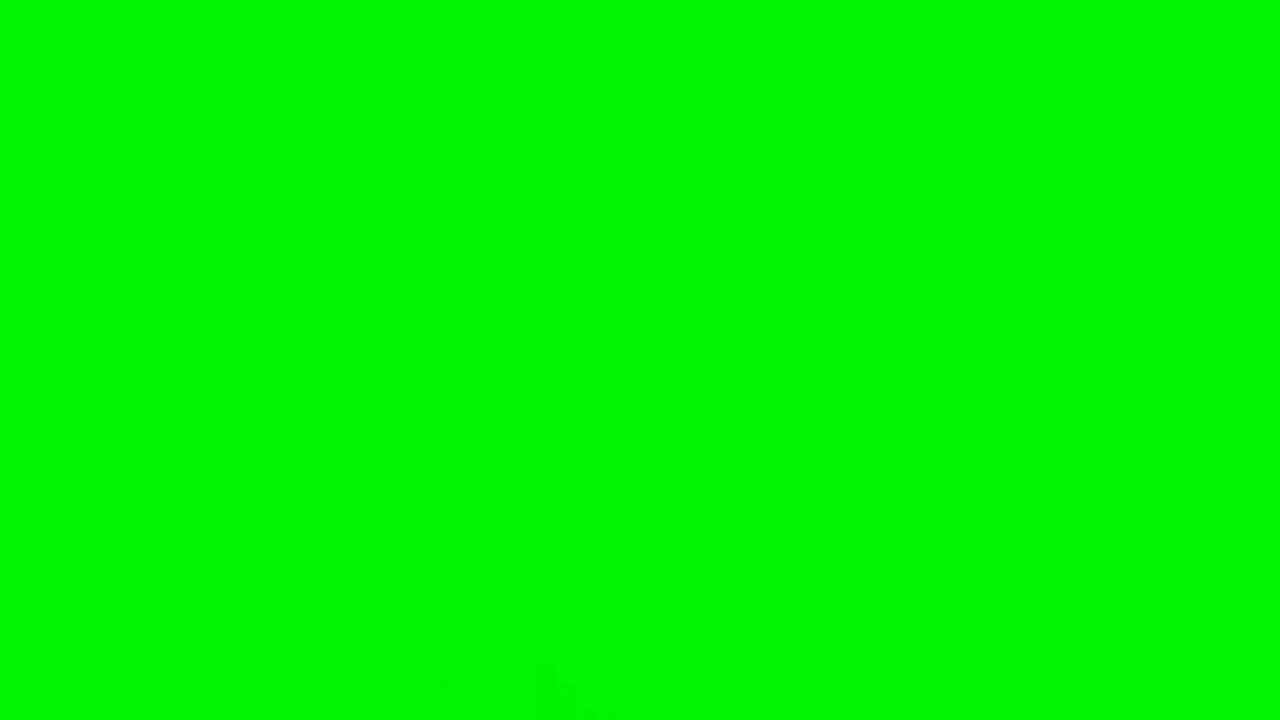 It's just green
